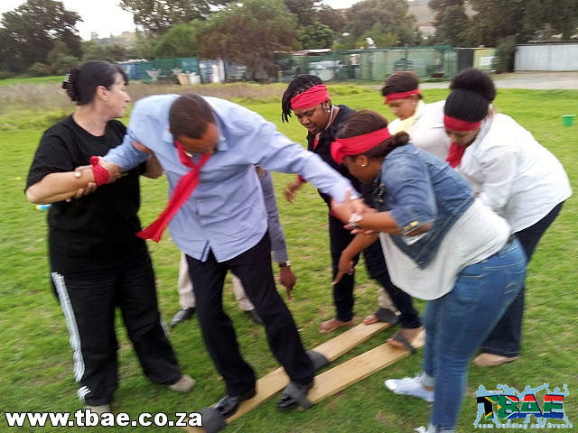 Plank Race Team Building Exercise