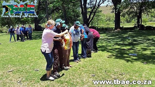 Nedbank Tribal Survivor Team Building Muldersdrift