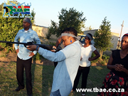 Air Rifle Shooting Team Building Johannesburg