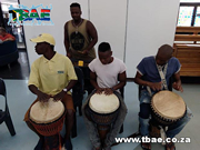 St Peter's College Drumming Team Building