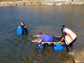 Raft Building Team Building Exercise