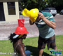 Bucket Challenge Team Building Exercise