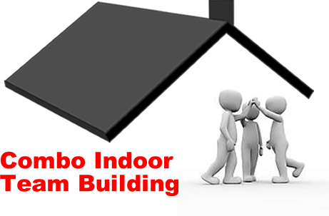 combo indoor team building activity