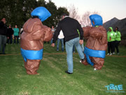 Sumo Suits team building exercise