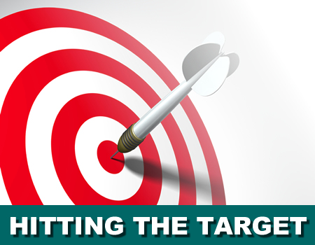 Hitting the target team building event