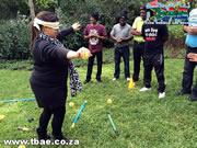 Blindfold Maze Team Building Exercise