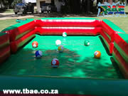 Inflatable Snookball Table