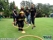 Games with hoola hoops
