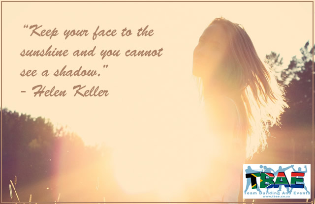 Team Building Quotes From Helen Keller | TBAE Team Building Blog