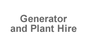 Generator and Plant Hire  Team Building Events