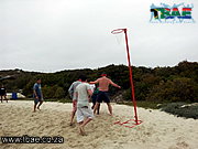 Netball Team Building on the Beach