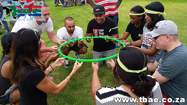 Hula Hoop Down Team Building Exercise