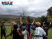 Nandos Tribal  Survivor Challenge Team Building Event in Pretoria