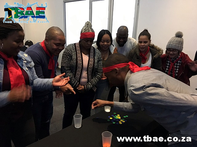 VFS Global Minute To Win It team building Cape Town