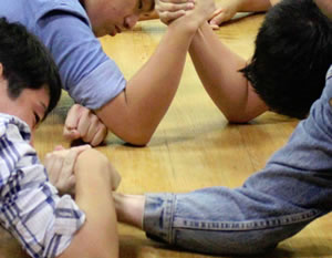Arm Wrestling Team Building Exercise