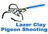 laser clay pigeon team build
