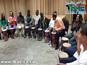 Nedbank Drumming Team Building Event in Durbanville