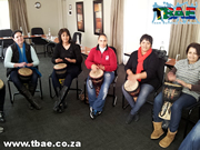Drumming Event in Cape Town