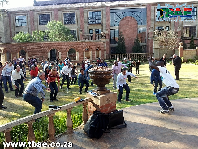 Team Building using Gumboot Dancing
