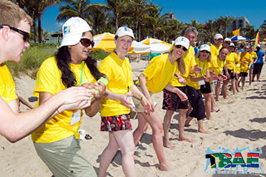 Wring The Towel Relay Race Team Building Exercise